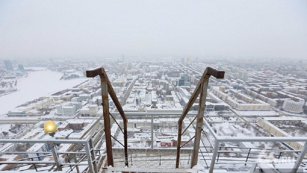 На крыше «Высоцкого» построят два открытых бассейна с видом на город