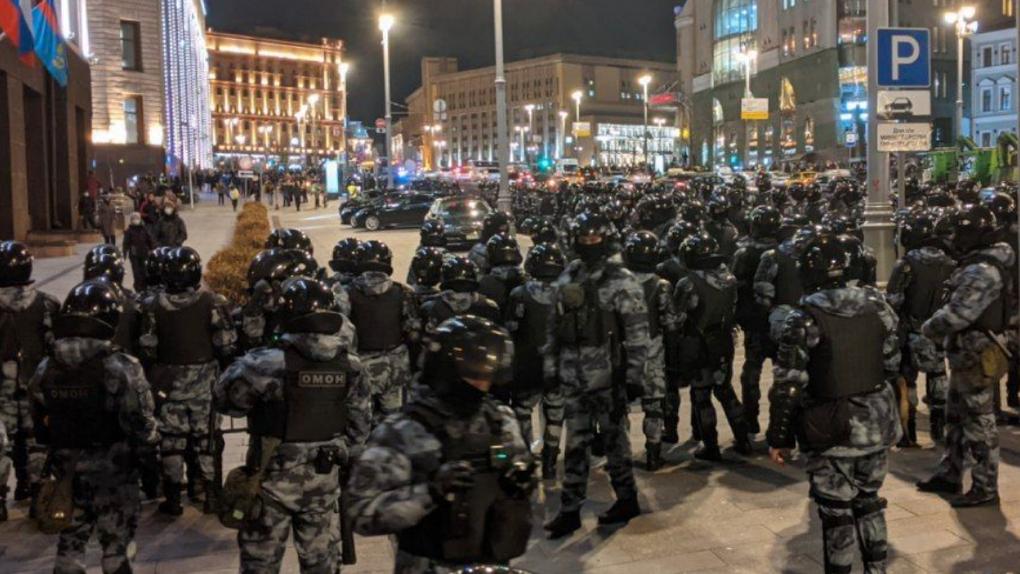 В городах России прошли акции в поддержку Алексея Навального. Итоги