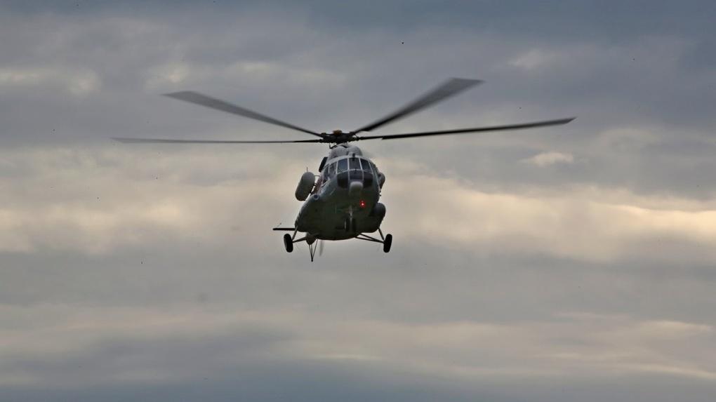 Спасатели сбросили с воздуха 75 тонн воды, чтобы спасти деревню от лесного пожара