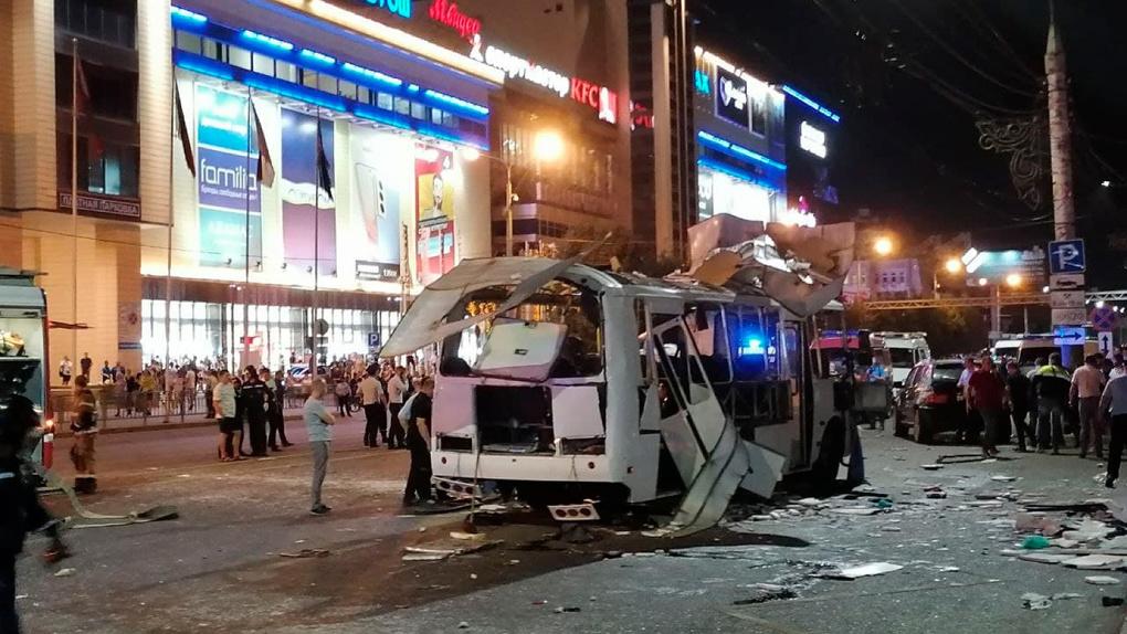 В Воронеже взорвался автобус с пассажирами. Главное