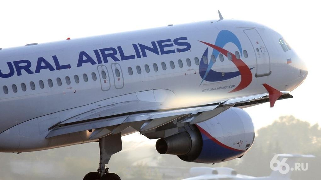 В Кольцово из-за технической неисправности вынужденно приземлился самолет «Уральских авиалиний»