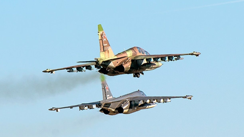 Русский штурмовик Су-25 сбит вСирии
