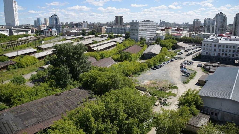Товарный двор и Завокзальный район в Екатеринбурге застроят в рамках общей концепции. Но есть проблема