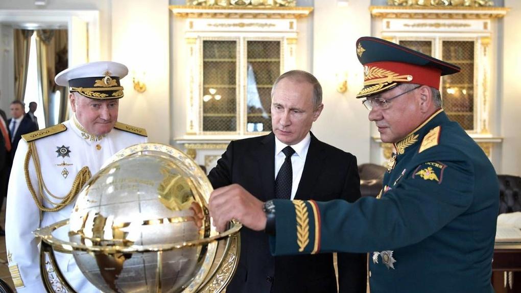 Новый глобус от Путина. Минобороны переименует острова в Антарктике
