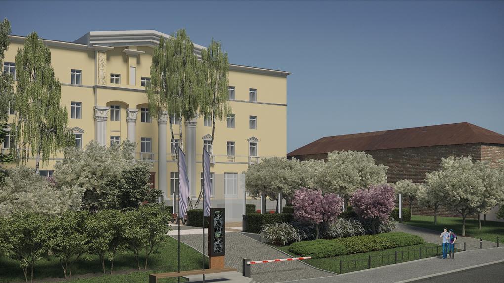 В Екатеринбурге реконструируют еще один сквер. Проект подготовили Владимир Шахрин и фонд «Город может»