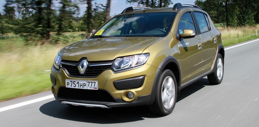 Робот по имени Изя: первый тест Renault Sandero с автоматическими трансмиссиями