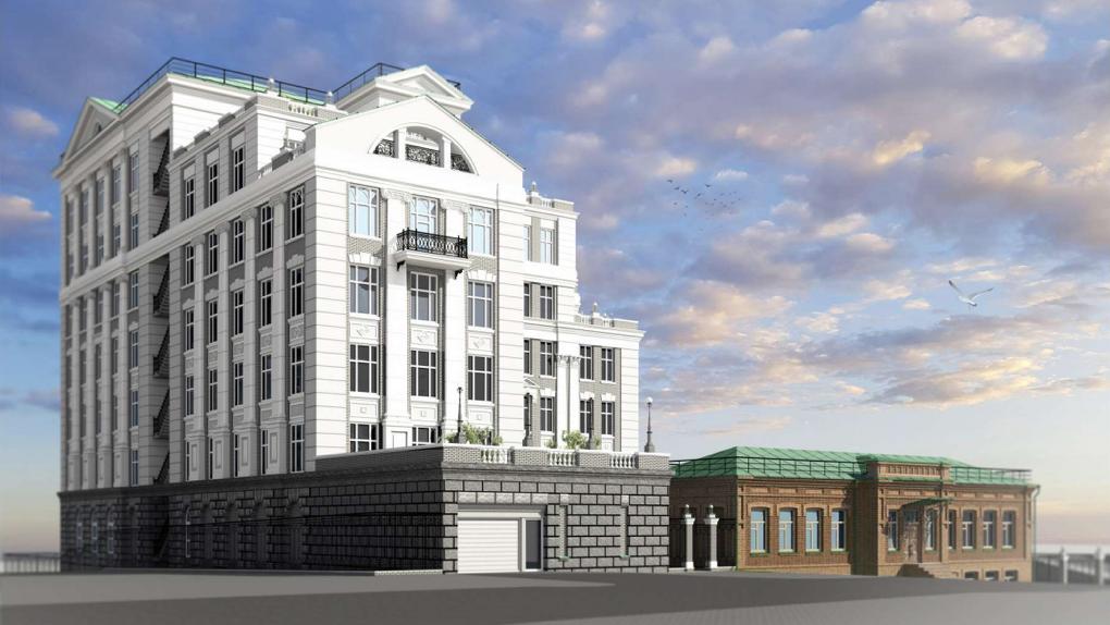 Администрация Екатеринбурга запретила пристраивать элитное жилье к земской школе у Харитоновского парка