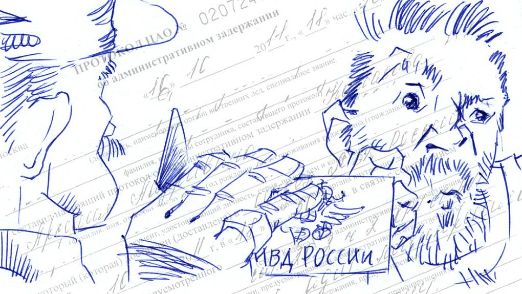 Гражданин полицейский документы предъявить