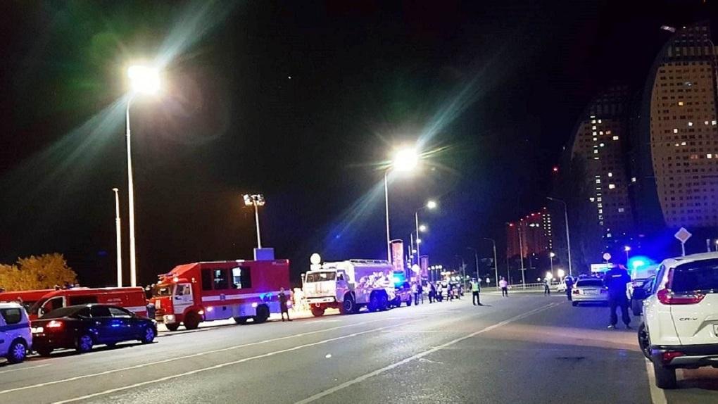 ВВолгограде при столкновении катамарана сбаржей умер  человек, девять пропали