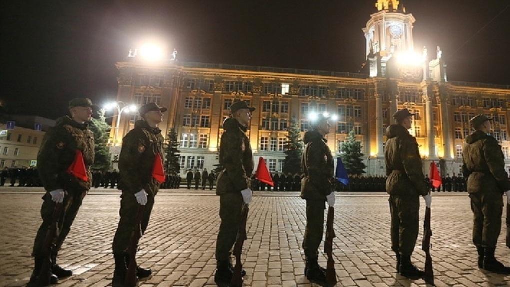 Центр Екатеринбурга закроют вечером из-за репетиции Парада Победы. Карта и график