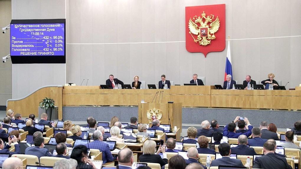 Госдума одобрила пакет законопроектов против нежелательных и экстремистских организаций