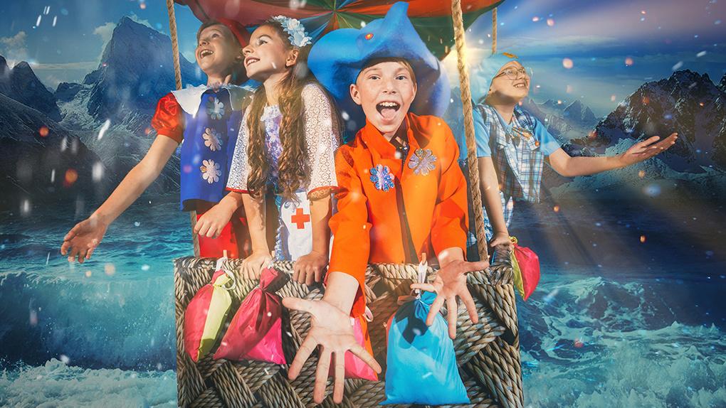 28-29 декабря 2019, 2-4 января 2020 в ЦК «Урал» покажут «Новогодние приключения Незнайки»