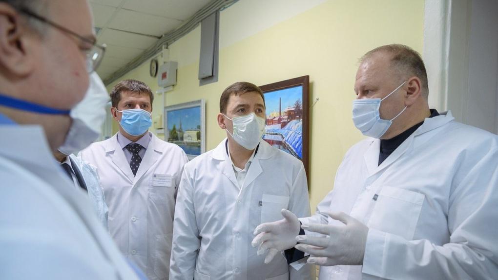 Число заболевших коронавирусом в горбольнице №1 возросло до 91