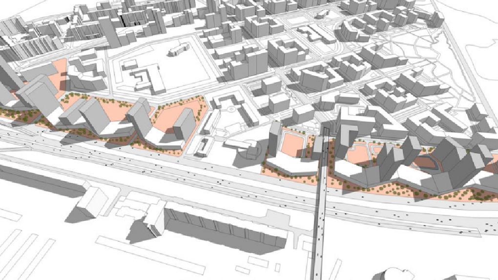 Градсовет разрешил застроить улицу Металлургов стеной из 30-этажных высоток. Новые подробности проекта