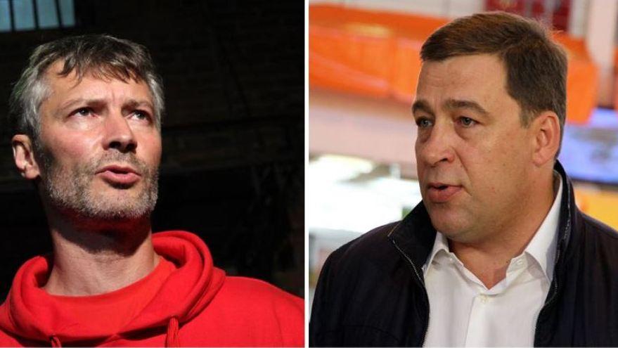 Ройзман побеждает в интернете, Куйвашев — в СМИ: первый рейтинг кандидатов в губернаторы