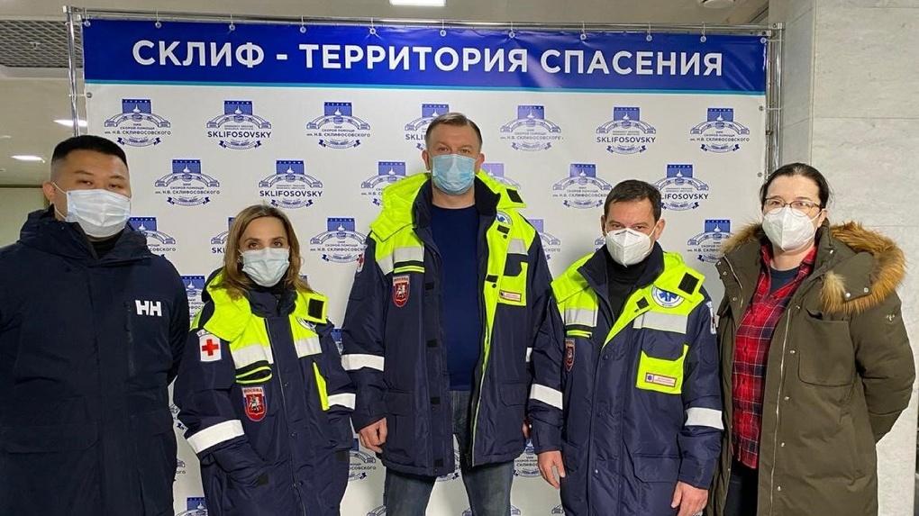 Бригада московских врачей едет спасать Екатеринбург от коронавируса