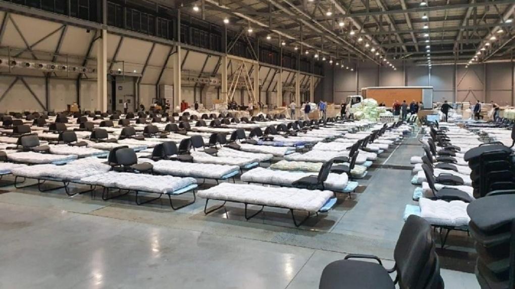 Мобильный госпиталь на Широкой Речке стоимостью 350 млн рублей простоит без пациентов еще год