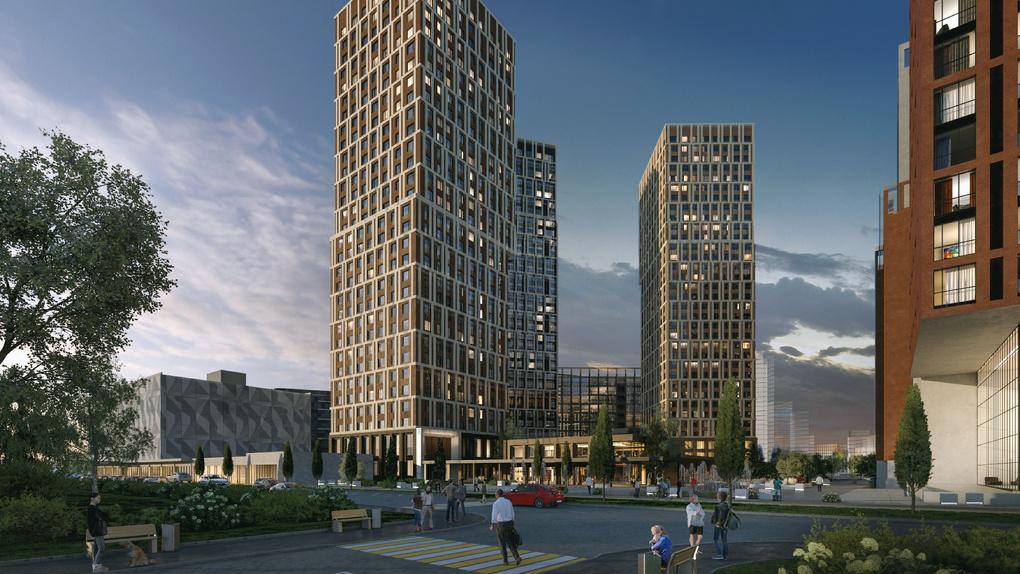 У ЦПКиО началось строительство жилого квартала на месте бывшего завода. Здесь поселят 6000 человек