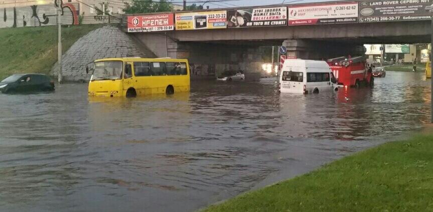 Без шансов, Екатеринбург утонет: главный по ливневой канализации расписался в бессилии