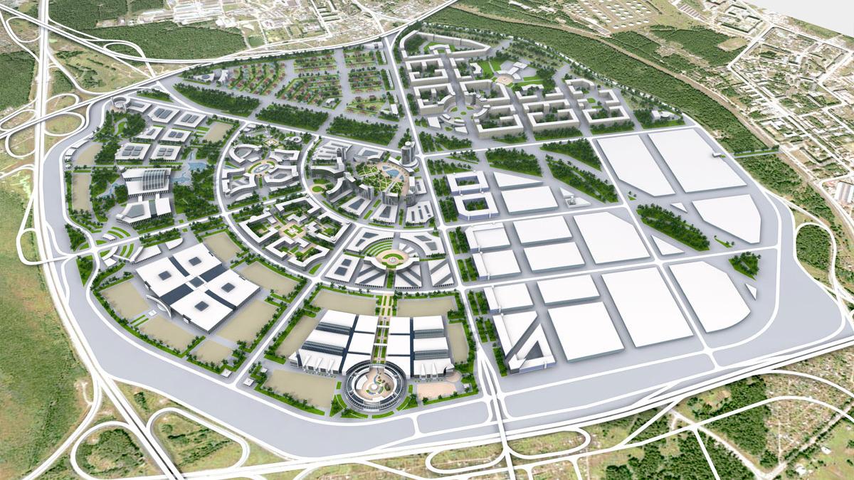 Рядом с Кольцово появится мини-город. Свежие подробности проекта