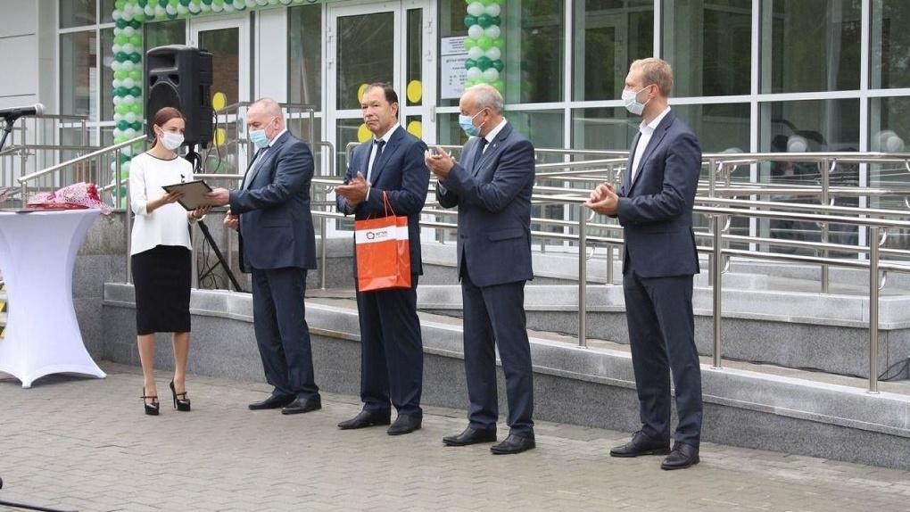 В Кировграде открылась новая детская поликлиника