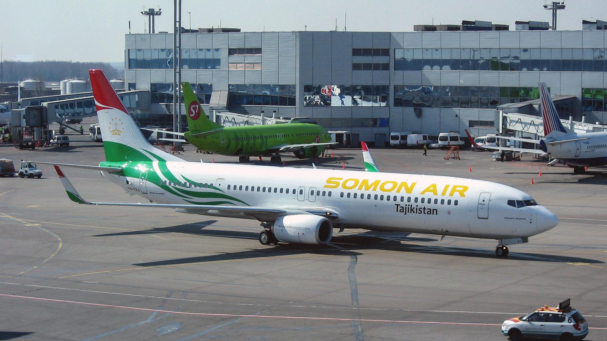Со2апреля Таджикистан ограничит авиасообщение сРоссией