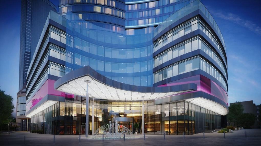 Opera Tower достроит «Атомстройкомплекс». Небоскреб хотят связать с гостиницей «Большой Урал»