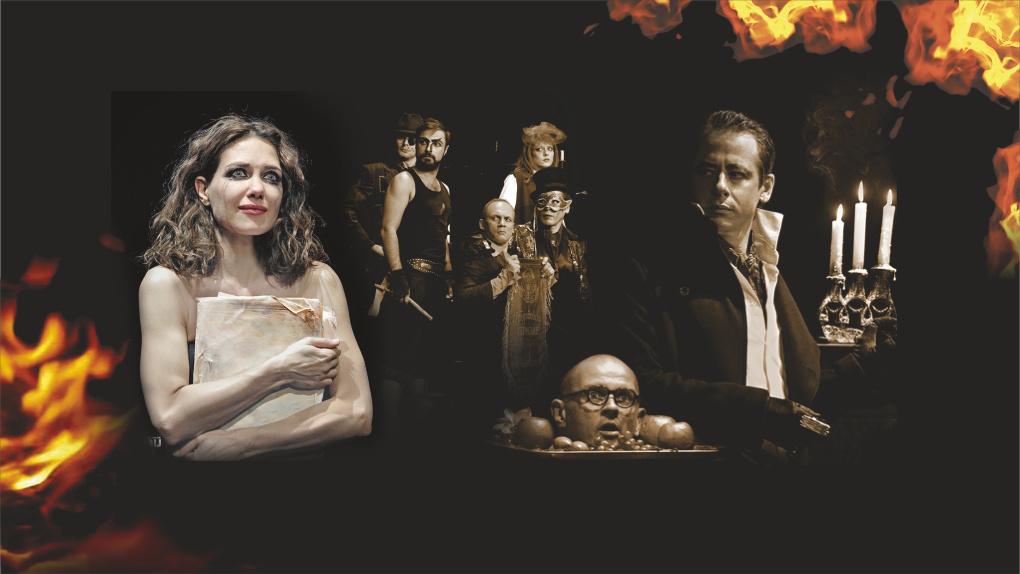 Во Дворце молодежи пройдет показ спектакля «Мастер и Маргарита»