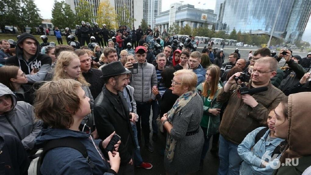 Жарким летом 2021-го Екатеринбург снова стал центром протестов. Хроника конфликтов