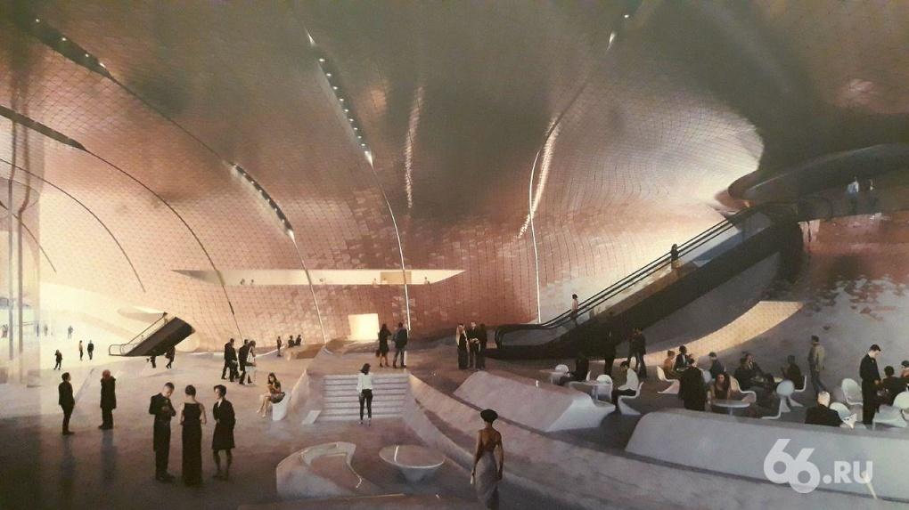 Концертный зал филармонии построят по проекту архитектурного бюро Захи Хадид. Эскизы застройки