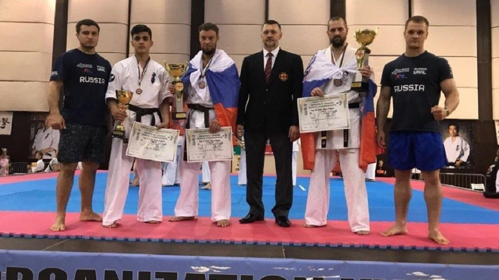 Спортсмены из Екатеринбурга взяли бронзу на чемпионате Европы по каратэ