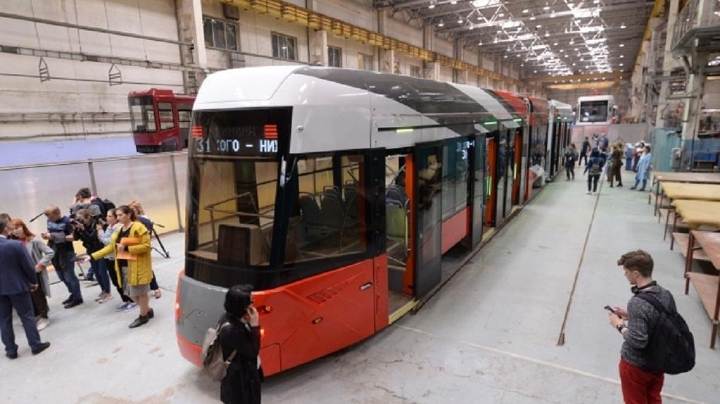 «Синара» договорилась с «Уралтрансмашем» о производстве новых трамваев для Екатеринбурга