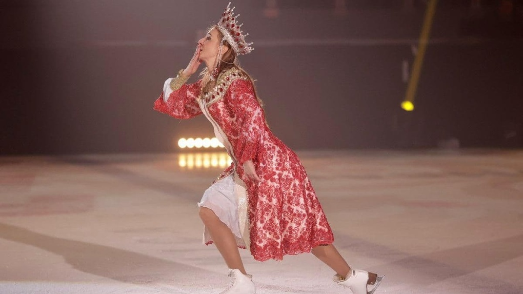 Татьяна Навка привезла свое ледовое шоу в Екатеринбург. Фото