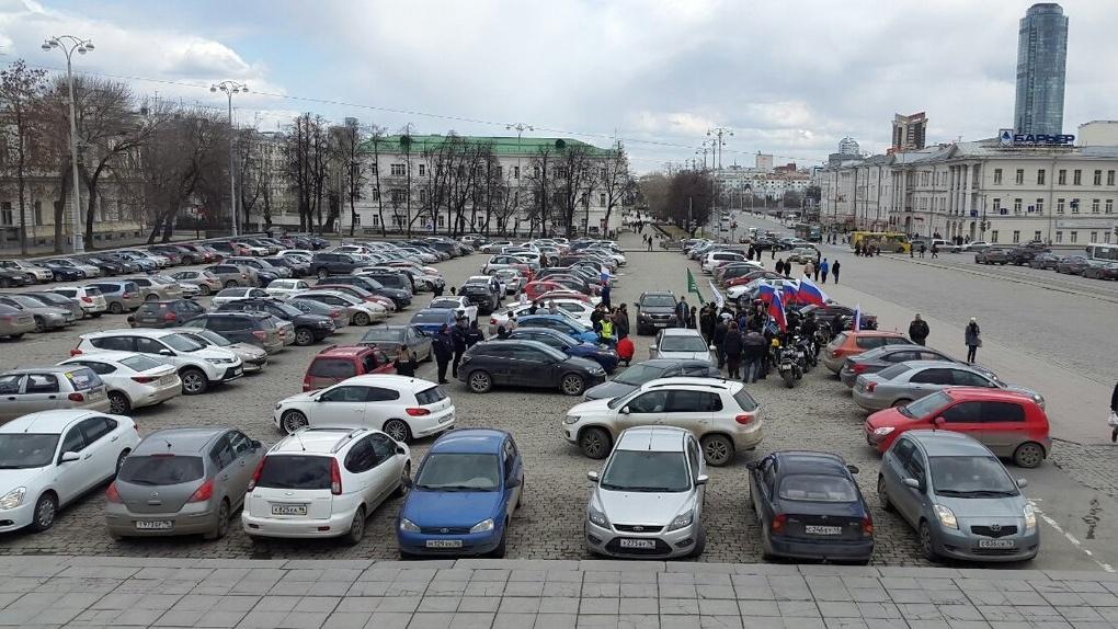 Парковку на площади 1905 года превратят в многофункциональную площадку для ярмарок и концертов