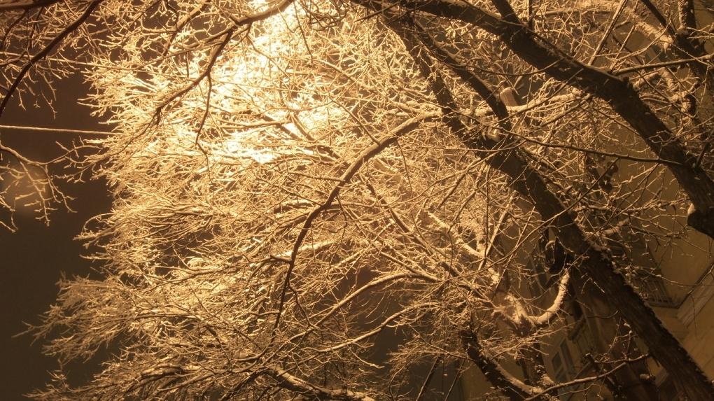 ВСвердловской области ночью ожидаются 20-градусные морозы