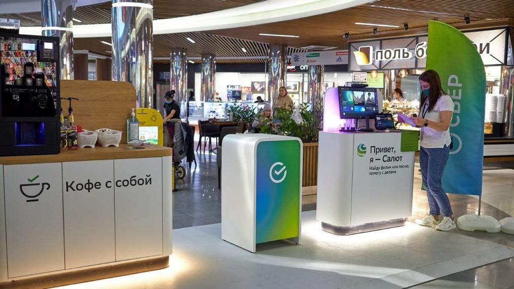 «Точки притяжения». В торговых центрах Екатеринбурга открыли банковские уголки SberStore