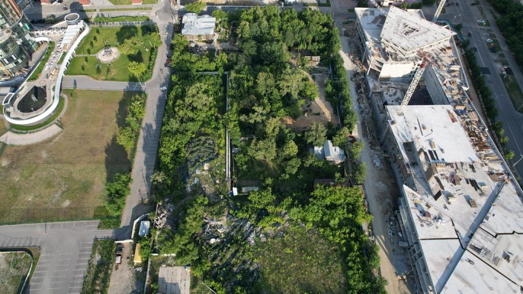 В саду Казанцева хотят разместить сидрерию и ретрит-центр. Новый проект застройки «Екатеринбург-Сити»