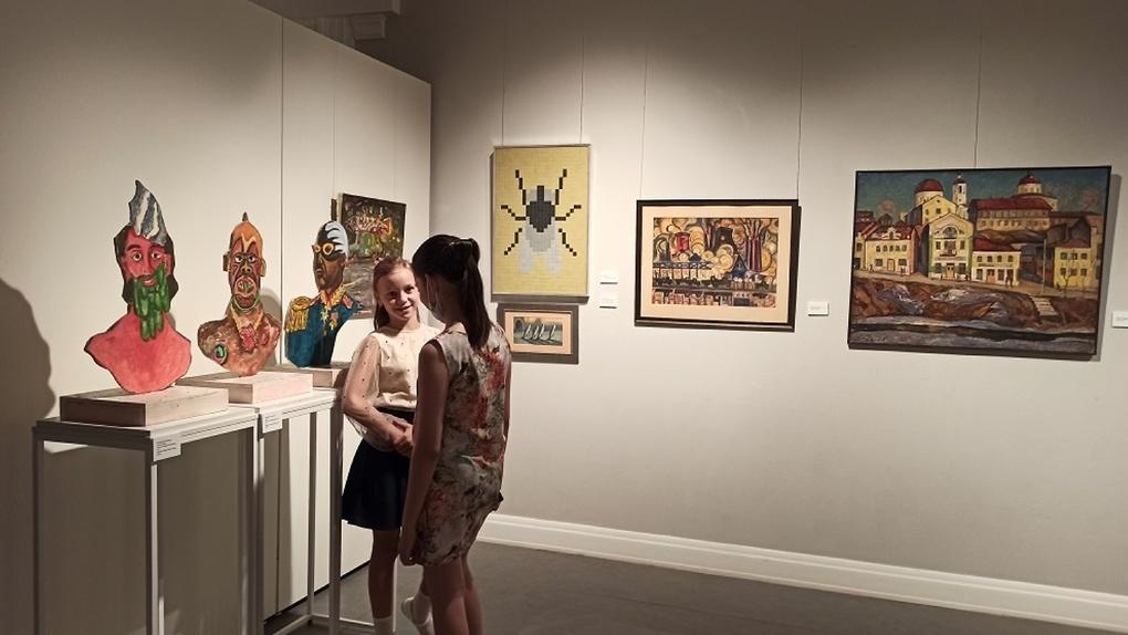 Впервые в Екатеринбурге открылись выставки, кураторами которых стали дети