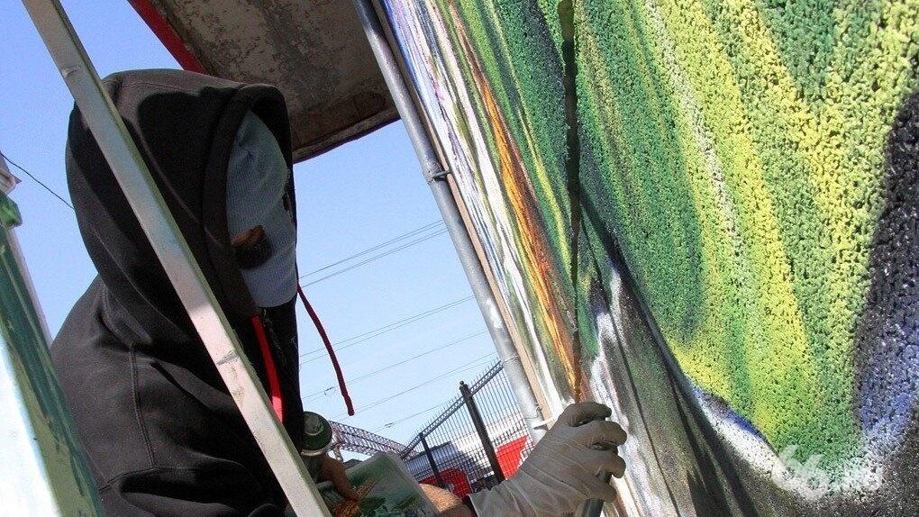 В конце октября в Екатеринбурге пройдет «нефестиваль» уличного искусства «Штабель»