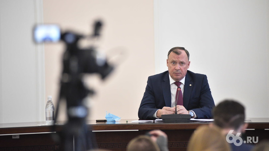 Глава Екатеринбурга Алексей Орлов заявил об отставке вице-мэра по строительству