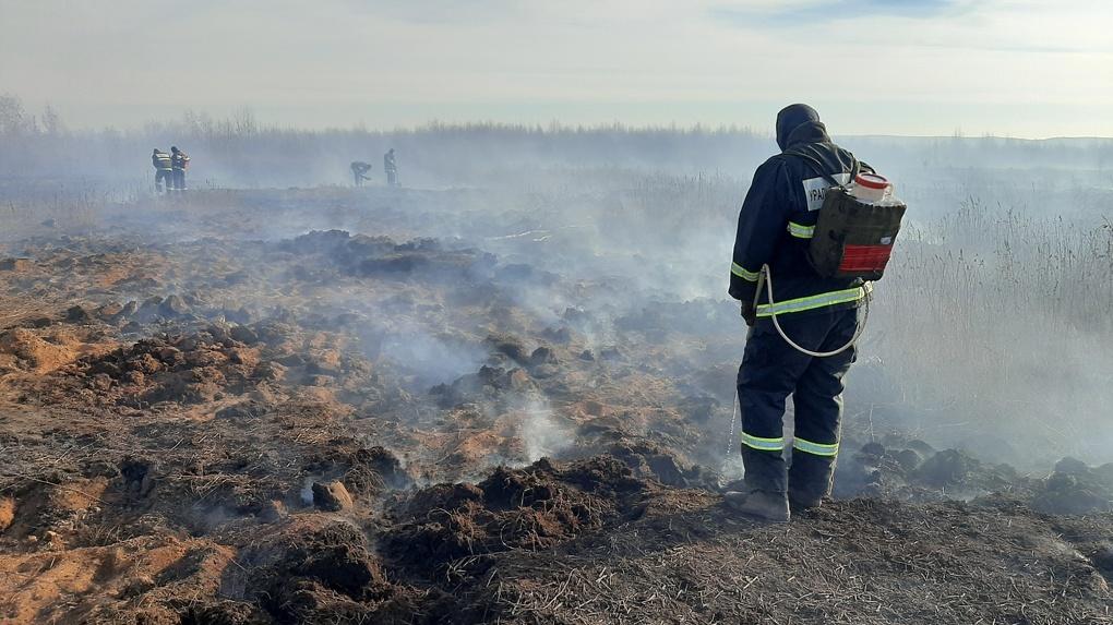 Ситуация останется сложной. Смог над Екатеринбургом из-за тлеющих торфяников не развеется до ноября