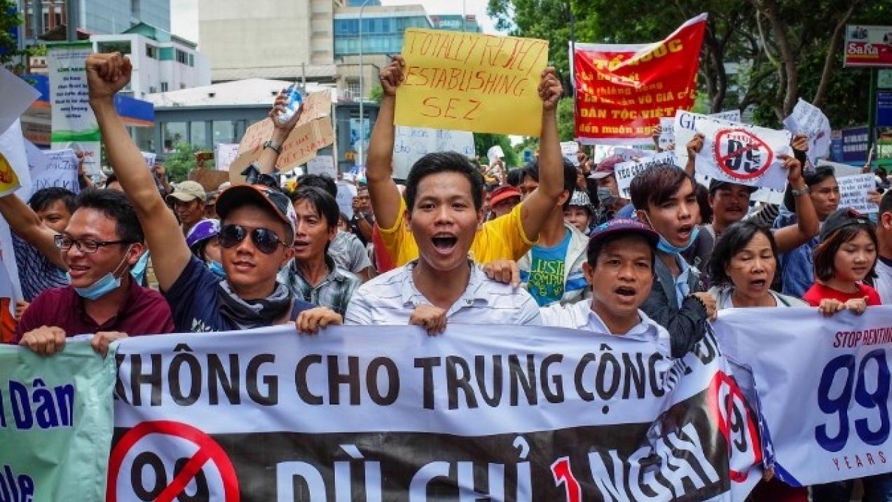 МИД предупредил российских туристов о массовых беспорядках во Вьетнаме