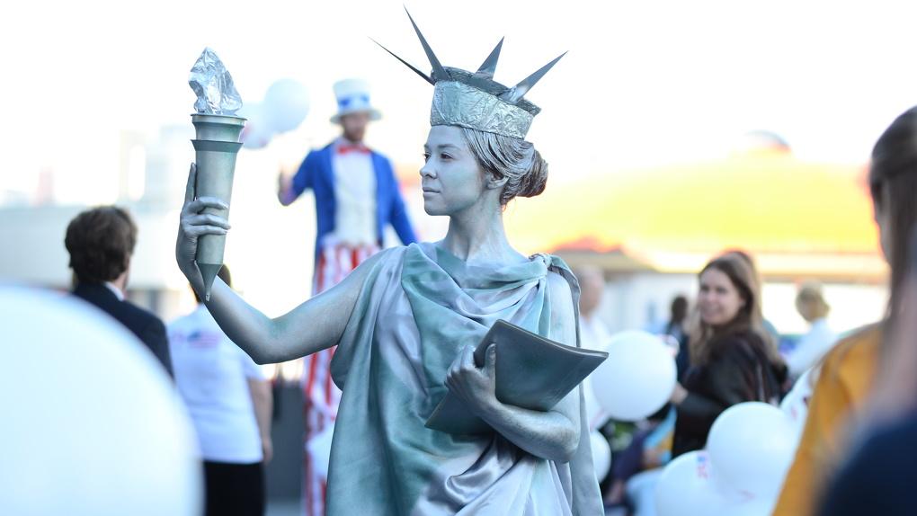 День независимости США отпраздновали у Ельцин Центра. Фоторепортаж