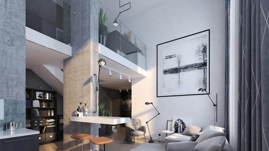 Секреты двухуровневой квартиры. На что обратить внимание