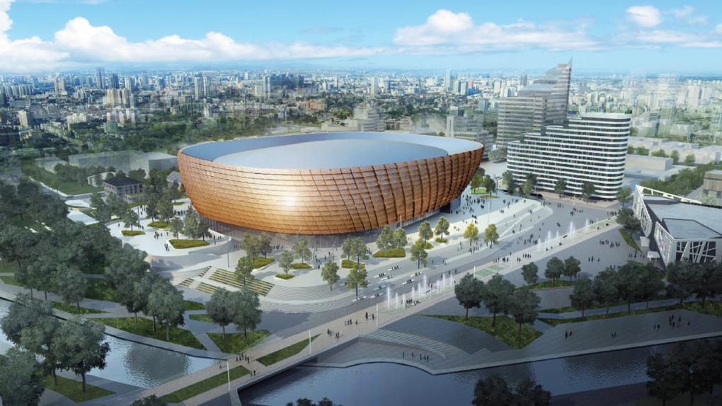 Проект новой ледовой арены вынесут на Градсовет в конце мая. Точная дата заседания