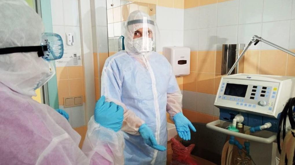 «ЕВРАЗ обеспечил всем необходимым». В центре имени Тетюхина открыли отделение для больных COVID-19