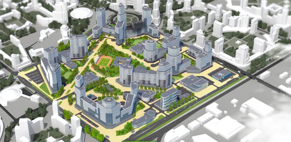 В Екатеринбург заходит ГК «ПИК». Один из крупнейших московских девелоперов начинает строить жилой район «Завокзальный»