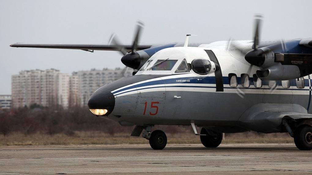 Пассажирский самолет упал в иркутской тайге