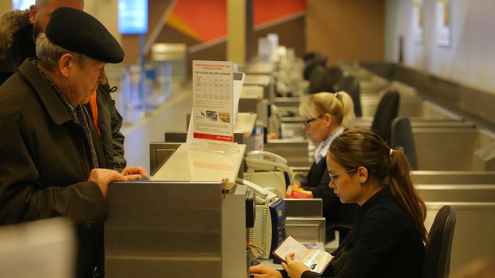 Цены на авиабилеты из Екатеринбурга за границу выросли в несколько раз