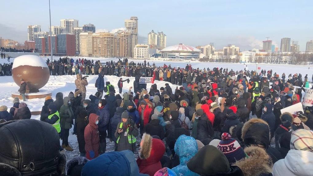 В Екатеринбурге задержали сотрудницу штаба Навального